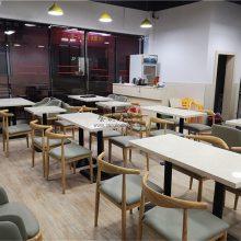 宜宾市肠粉店餐桌椅子定做,粥品店家具供货厂家
