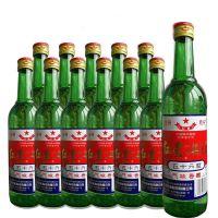 北京红星二锅头56度绿瓶高度清香型白酒500ml*12瓶白酒整箱