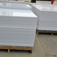 德州德硕塑料供应白色耐磨pp板材/耐磨聚丙烯板材/焊接水箱酸洗槽塑料板材