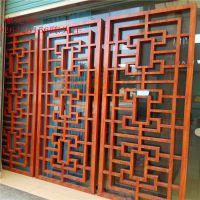 护栏方管格栅 铝方管栅栏 金属装饰建材