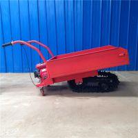 有倒档的田埂运输车 橡胶履带轮简单式工具车 奔力LvD-D