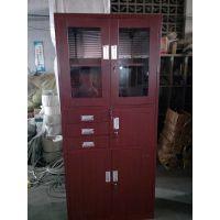 钢制放书柜 简约 家用储物钢柜 书房钢制书柜 生产厂家
