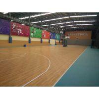 上海篮球场PVC地胶室内防滑塑胶地板