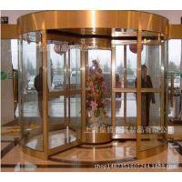 豪华二翼宾馆酒店办公楼自动旋转门厂家按需定制酒店旋转门宾馆门