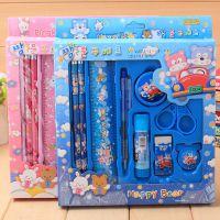 T厂家直销韩国文具套装 儿童小学生礼品生日礼物学习用品定制批发