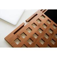 竹制便携式多功能笔记本ipad支架