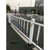 市政护栏大量现货 道路隔离反光条蓝红护栏 马路中央隔离栏