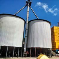 养殖场用200吨玉米钢板仓 100吨粮食储罐料仓 锦邦