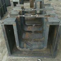 水泥预制流水渠模具操作简单易脱模