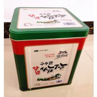 14kg大酱包装马口铁方罐