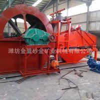 安徽合肥水轮洗砂机生产线多少钱,合肥洗砂机现场试机测试