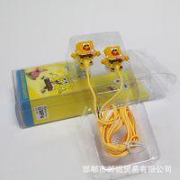厂家直销 入耳式卡通动漫耳机 五元店地摊货源 多元店货源批发