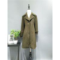 汉派女装【呢子大衣】外套新款单面呢女装折扣货源