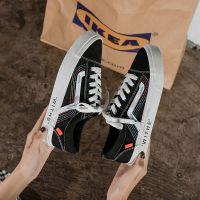 淘宝热卖街拍帆布鞋 社会女万斯鞋 INS热卖爆款网红潮流百搭板鞋