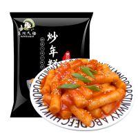 东北大妈炒年糕即食食品辣酱炒年糕条韩式年糕火锅速食年糕送酱包