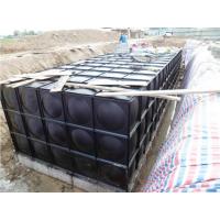 武汉厂家直销热镀锌材质抗浮式BDF地埋箱泵一体化水箱