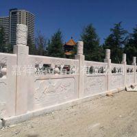 批发采购优质石栏杆 晚霞红雕花栏杆定制 石栏杆护栏价格