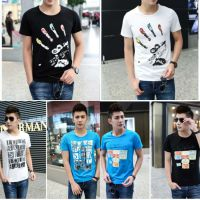 几元男装短袖批发厂家 韩版男装半袖小批发货源新款T恤