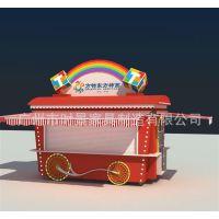 青岛方特梦幻王国卡通售货车,便民服务亭,广州时歌厂家生产定制户外售卖亭