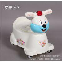 厂家直销大号抽屉式婴儿坐便器儿童座便器小兔子便盆加大座带音乐