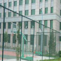 篮球场围网做法 球场围网草坪工程 勾花网护栏网