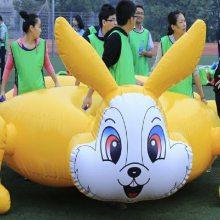 河南充气龟兔赛跑气模趣味运动会器材团队拓展比赛道具生产商