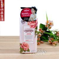 韩国 ON 玫瑰香水快乐微风身体乳 体乳 400ml 粉色