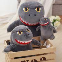 可爱哥斯拉公仔卡通造型小怪兽玩偶毛绒玩具布娃娃生日礼物女
