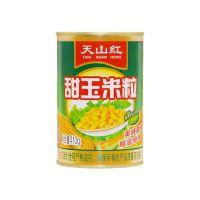 天山红新鲜即食水果甜玉米粒罐头沙拉玉米烙榨汁鱼饵410g