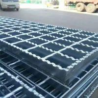 热镀锌齿形钢格板 污水处理厂沟盖板 电厂平台钢格板规格