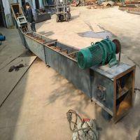 东莞块料上料刮板输送机 六九刮板式散颗粒输送机