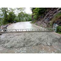 桥面框架整平机 混凝土路面全钢制框架整平机 振动梁摊铺机