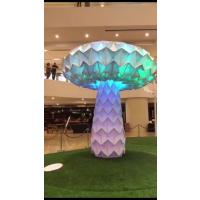 青和文化 七彩变形发光蘑菇树LED光感 蘑菇树 厂家直销