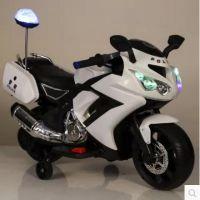新款儿童电动车摩托车三轮车2-8岁小孩可做玩具男女孩充电摩托车