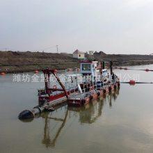 通化制造大型绞吸船的厂家 液压绞吸船出口公司