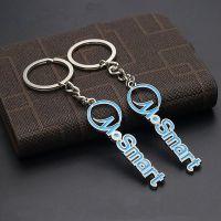 定制金属字母钥匙扣 烤漆钥匙链汽车挂牌手机吊饰定做厂家批发