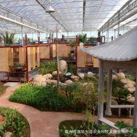 鑫华生态餐厅 生态餐厅外观效果图 温室餐厅图片 小型温室餐厅