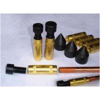 防雷电镀铜包钢接地棒φ14 φ16 φ18防雷接地棒降阻垂直铜包钢接地棒φ32 1.2米