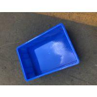 塑胶箱印字PE新料周转箱加厚耐摔塑胶箱黑色防静电周转胶箱