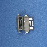 防水MICRO 5P母座 A型 TYPE 沉板2.1 贴片SMT 安卓USB接口 IP67级 -cy