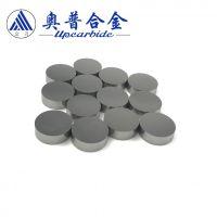硬质合金YG8圆饼 实心钨钢圆盘垫 耐磨合金圆钢片