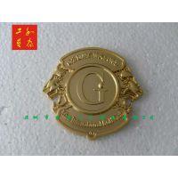 汽车车友会标志标牌定做,深圳锌合金立体金属车标标牌制作厂家