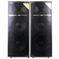 厂家双15有源插卡无线麦克风舞台音箱大功率娱乐会议音响KTV音箱