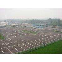 大浪停车场划线标准尺寸,大浪路边专用临时停车位划线施工