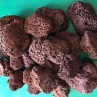 火山石 建筑材料园艺铺路3-5cm火山石 湿地 过滤材料