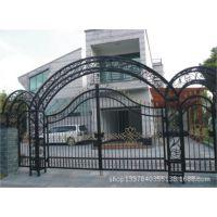 宁波铁艺大门设计 定制 安装 维修 别墅庭院铁大门