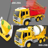 1:16电动遥控翻斗车自卸车水泥罐车搅拌车工程车玩具车创立888-29