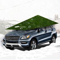 汽车用品装饰汽车车伞便携式抗雪移动车篷防雪车篷厂家直销