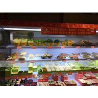 三门峡水果展示柜水果风幕柜不锈钢风幕柜制造商