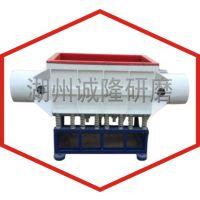 380V大工件槽式研磨光饰机,大型振动抛光机,超大工件表面抛光卧式研磨机